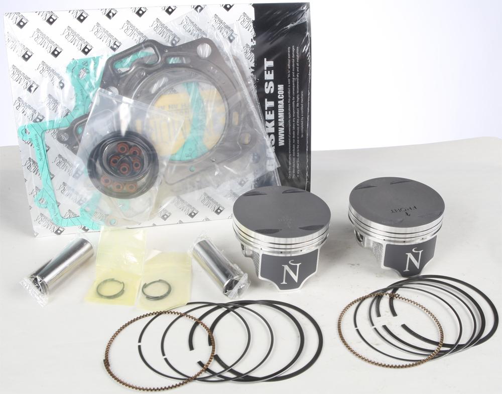 Namura ATV Piston Ring Set 79.96mm for Kawasaki KVF650 BRUTE FORCE 4X4i 06-13