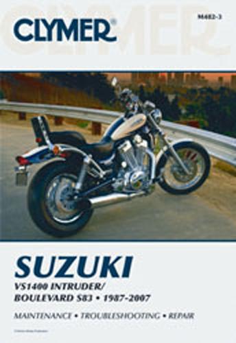 clymer m482 3 suzuki twins vs1400 intruder manual ebay rh ebay com 1989 Suzuki Intruder 750 Bobber 1986 Suzuki Intruder 750 GL