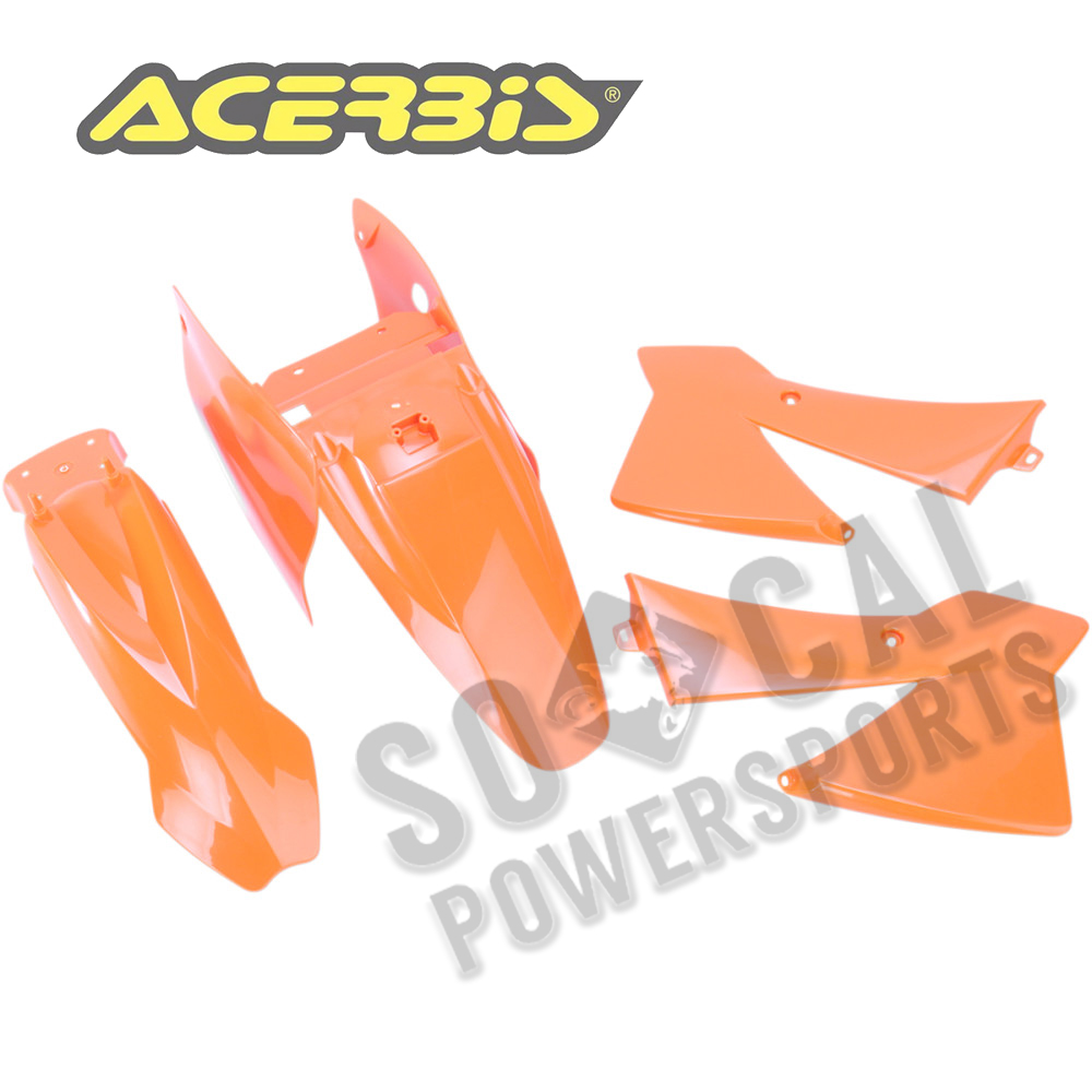 ORANGE ACERBIS PLASTIC KIT PART# 2041180206 NEW