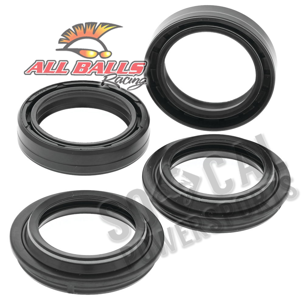 Details About All Balls Fork Oil Dust Seal Kit Kawasaki Ex 250f Ninja 250r 2008 2012
