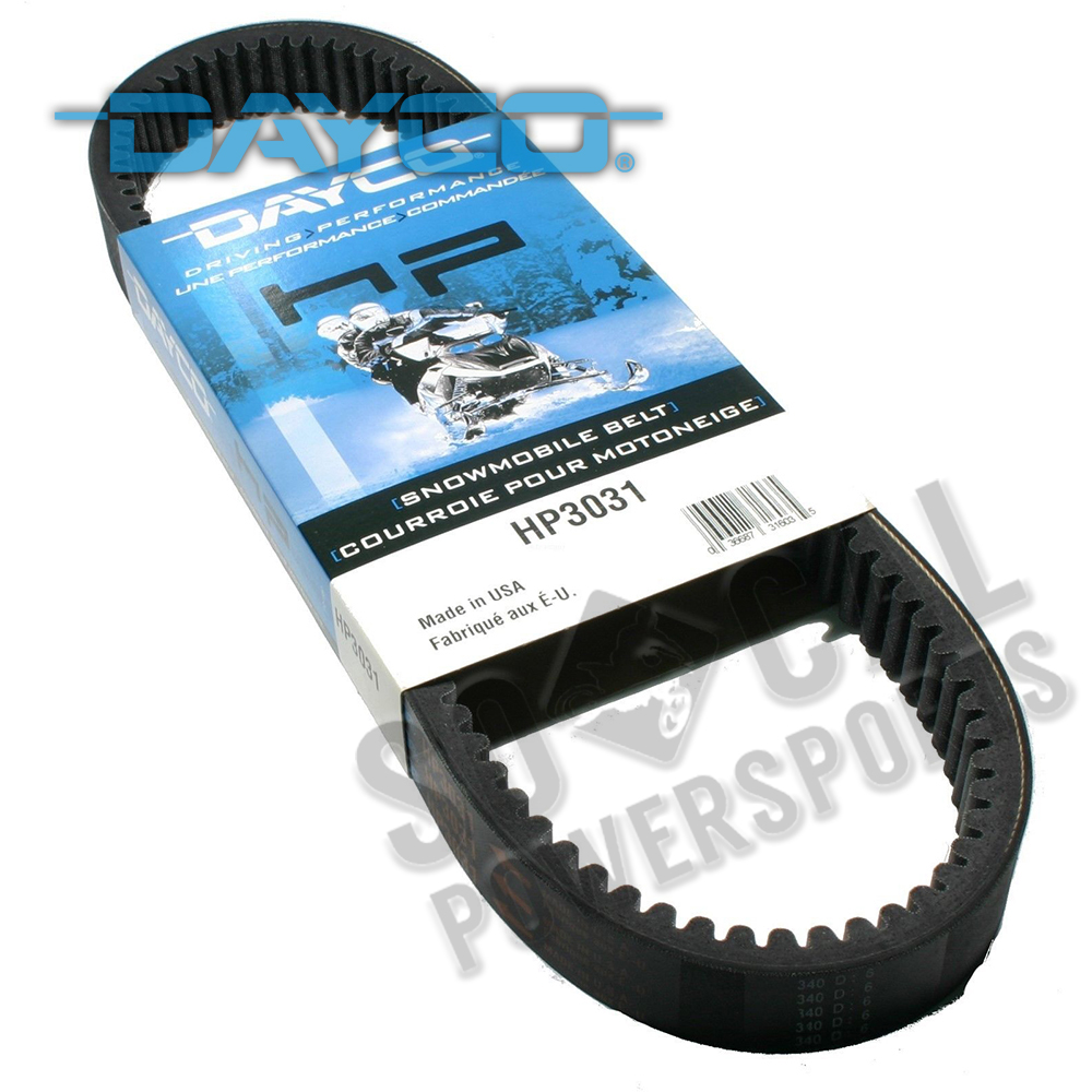 Dayco HP Drive Belt for Yamaha Phazer 500 1999-2001