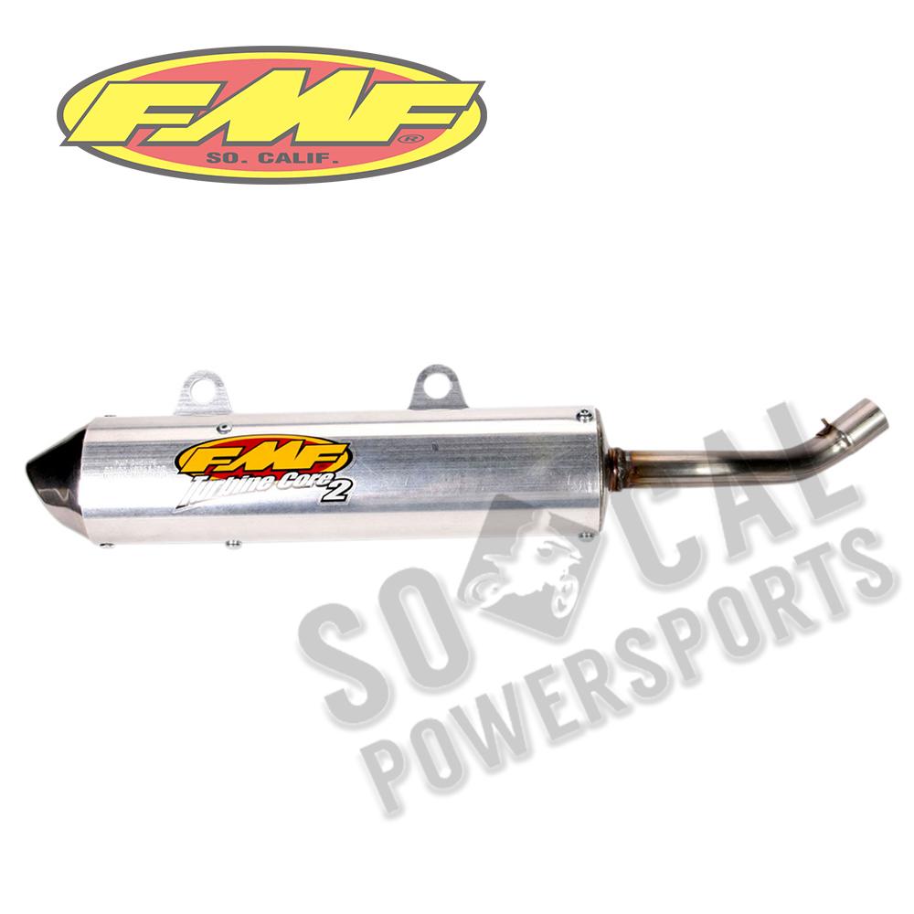 96-99 Yamaha YZ125 FMF TurbineCore 2 Silencer with Spark Arrestor  020357