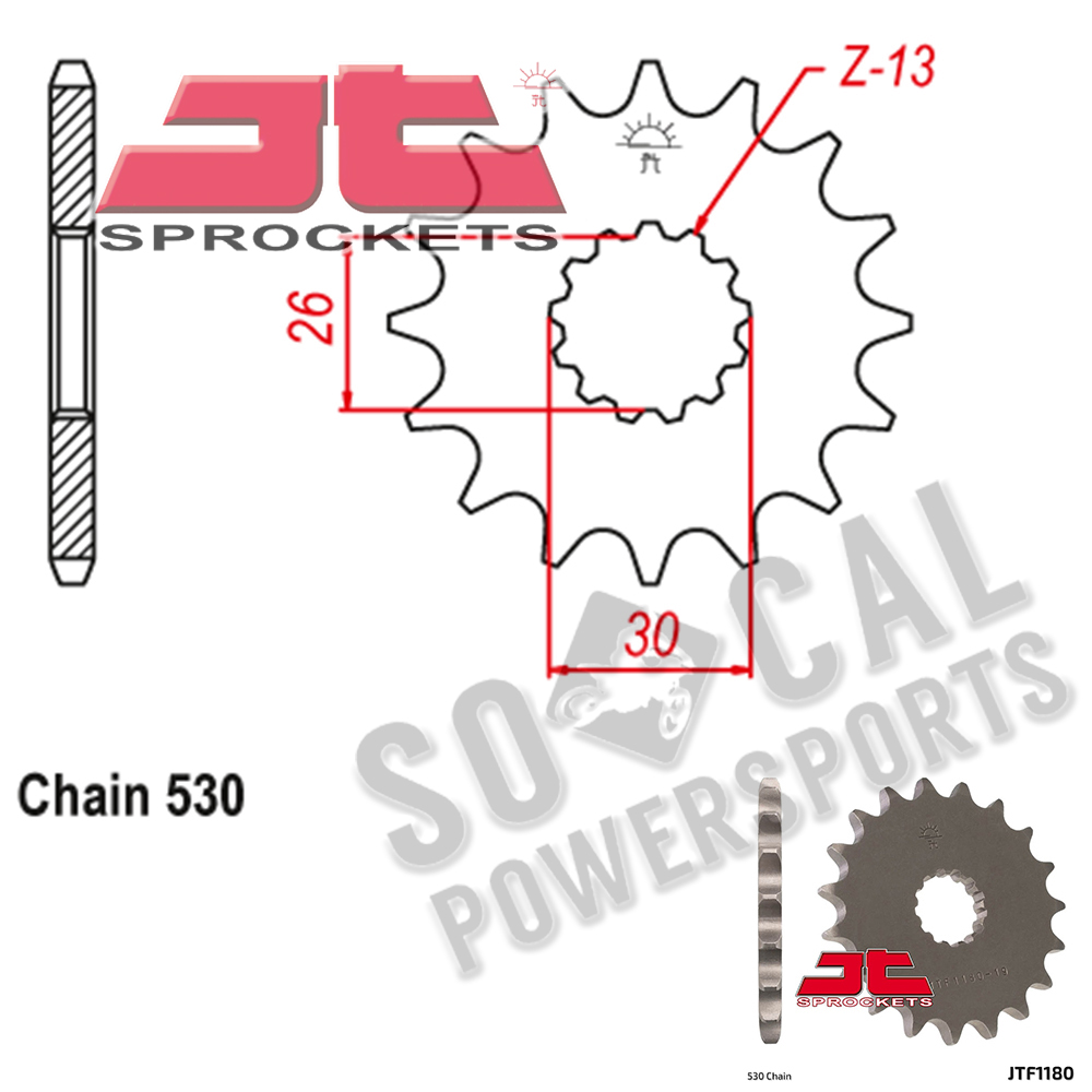 1050 Sprint 2007 High Quality Steel Front Sprocket