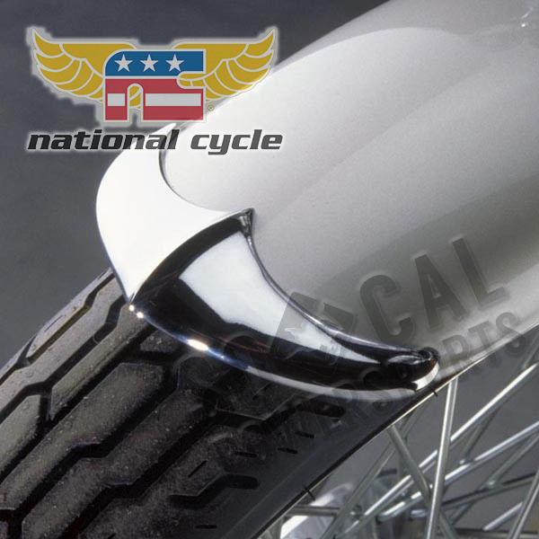 Front Cast Fender Tip Honda VT1100C Shadow/Spirit 87-07 National Cycle N731 Motorcycle Parts