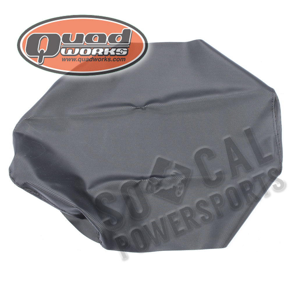QuadWorks Cycle Works Seat Cover Gripper Black 36-18085-01 HONDA