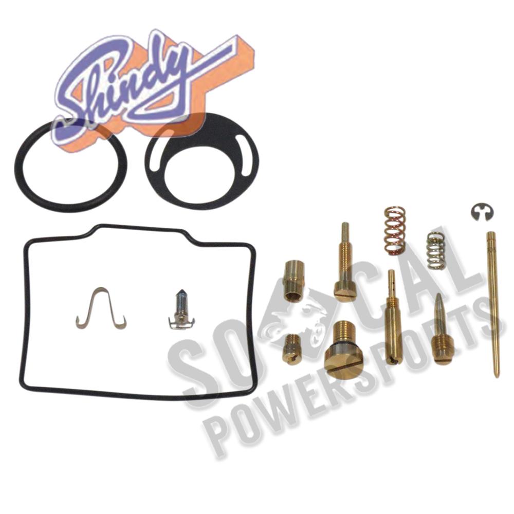 Shindy Carburetor Repair Kit Honda TRX250 1986 1987 Model