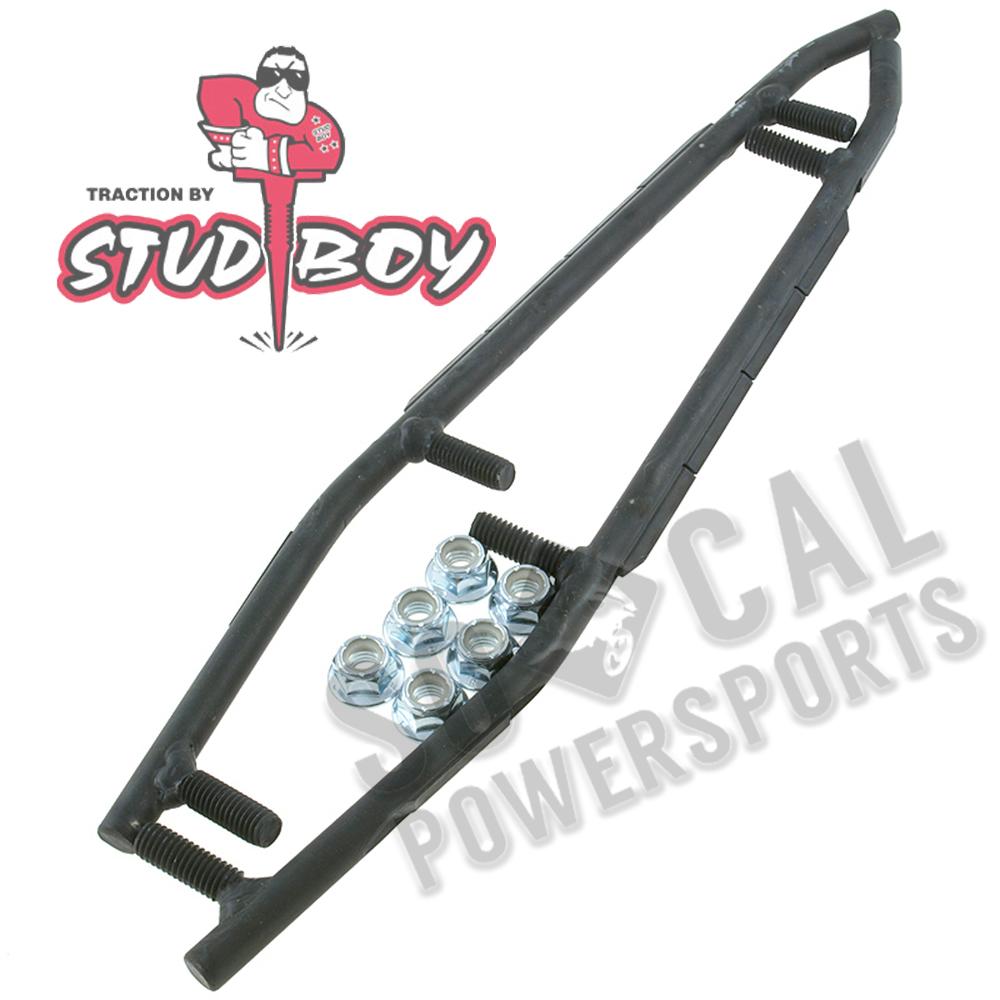 "Polaris POL-D2523-90 9/"" Stud Boy Deuce Bar Ski Carbide"