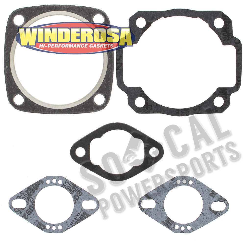 Complete Gasket Kit with Oil Seals For Ski-Doo Olympique 300 300S 1972-1976