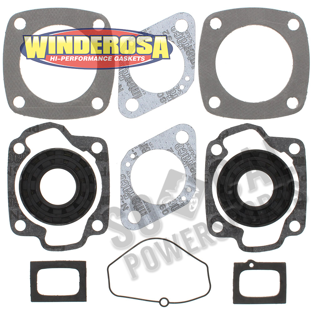 Complete Gasket Kit with Oil Seals For Ski-Doo Olympique 340 340 E 1973-1975