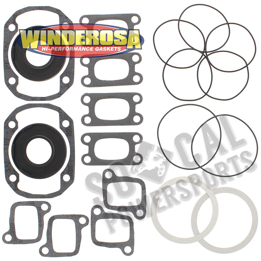 Winderosa 711226 Gasket Kit with Oil Seals